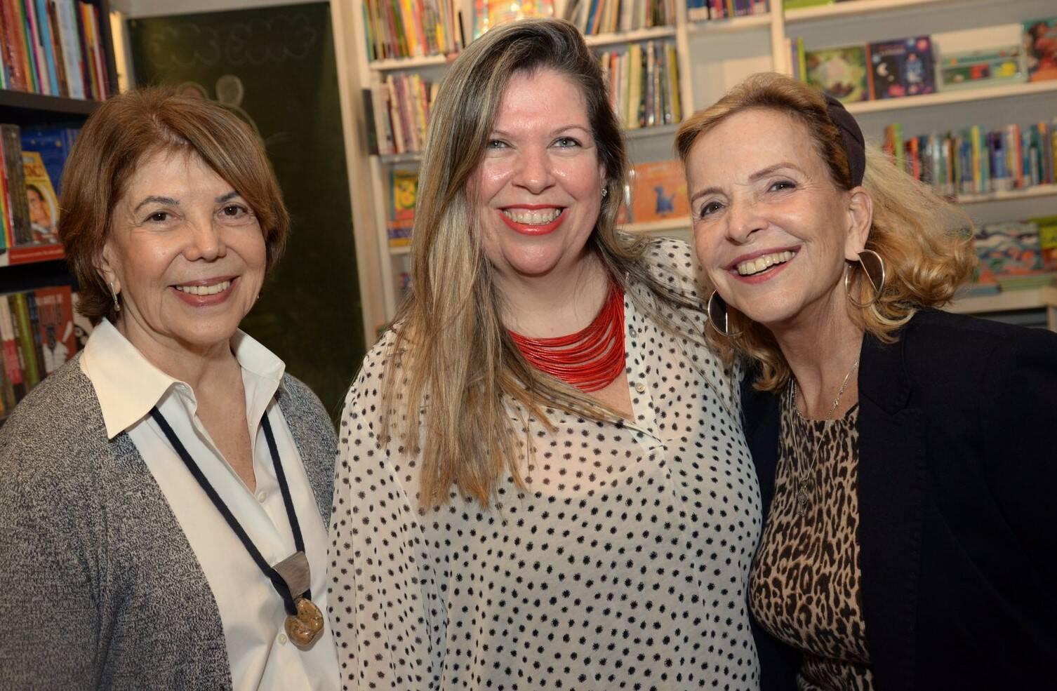Vera Hambeeck, Carol Lindner e Bebel Klabin /Foto: Leo Marinho