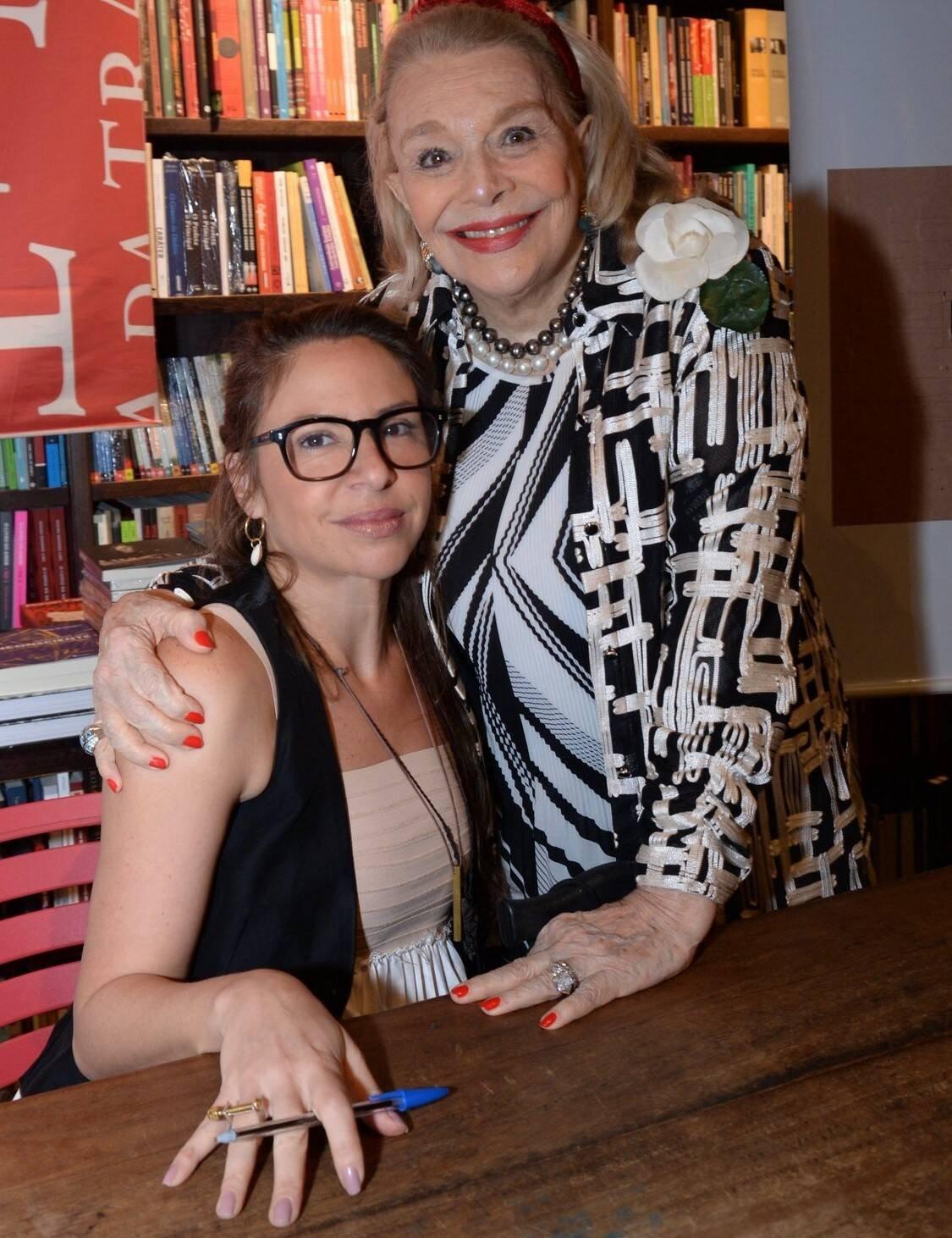 Rose Klabin e Lourdes Catão  /Foto: Leo Marinho