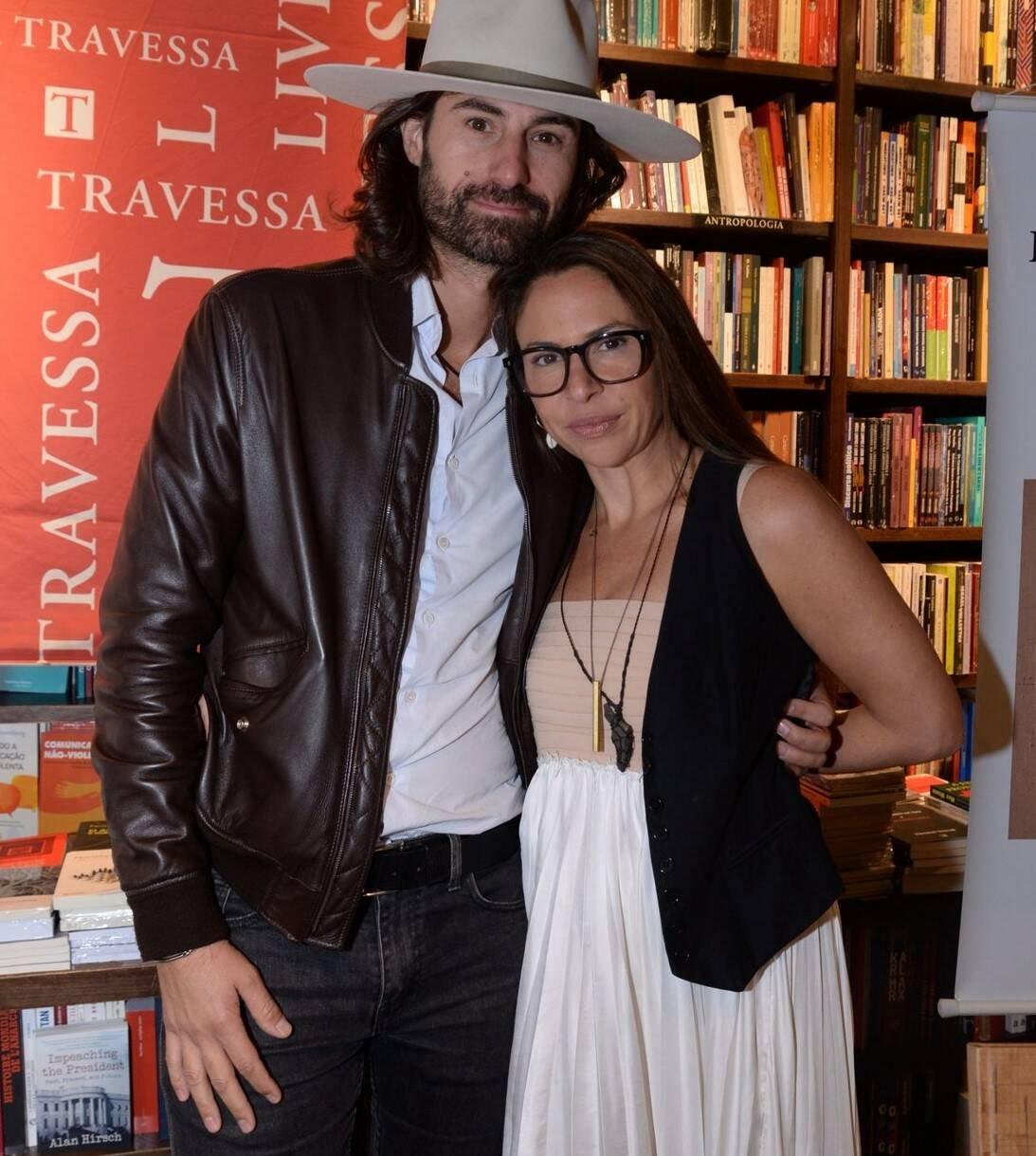 Jordane Andrieu e Rose Klabin /Foto: Leo Marinho