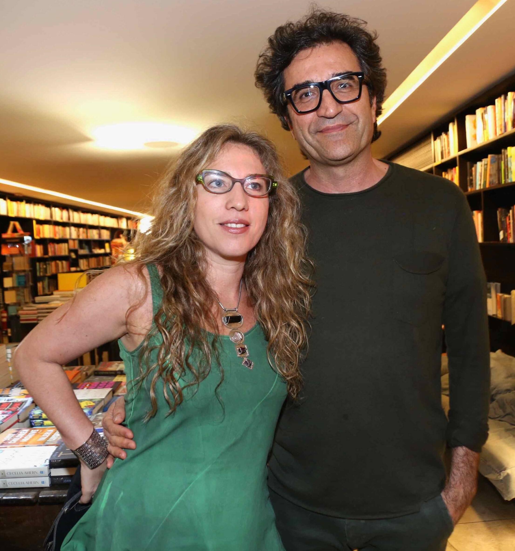 Yael Steiner  e Eduardo Fernandes  /Foto: Denise Andrade