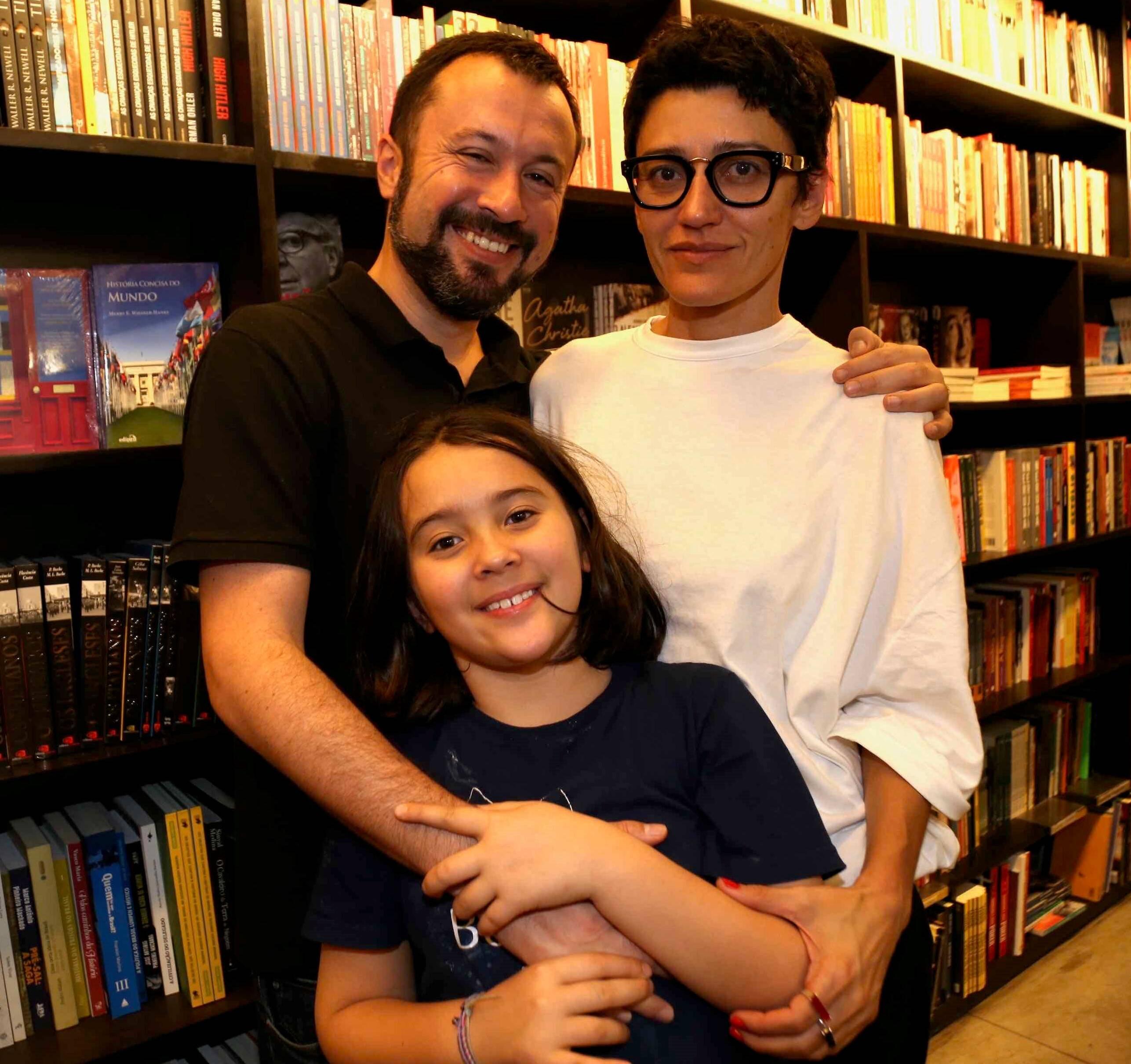 Daniel, Dedé e Eva Bevilaqua /Foto: Denise Andrade