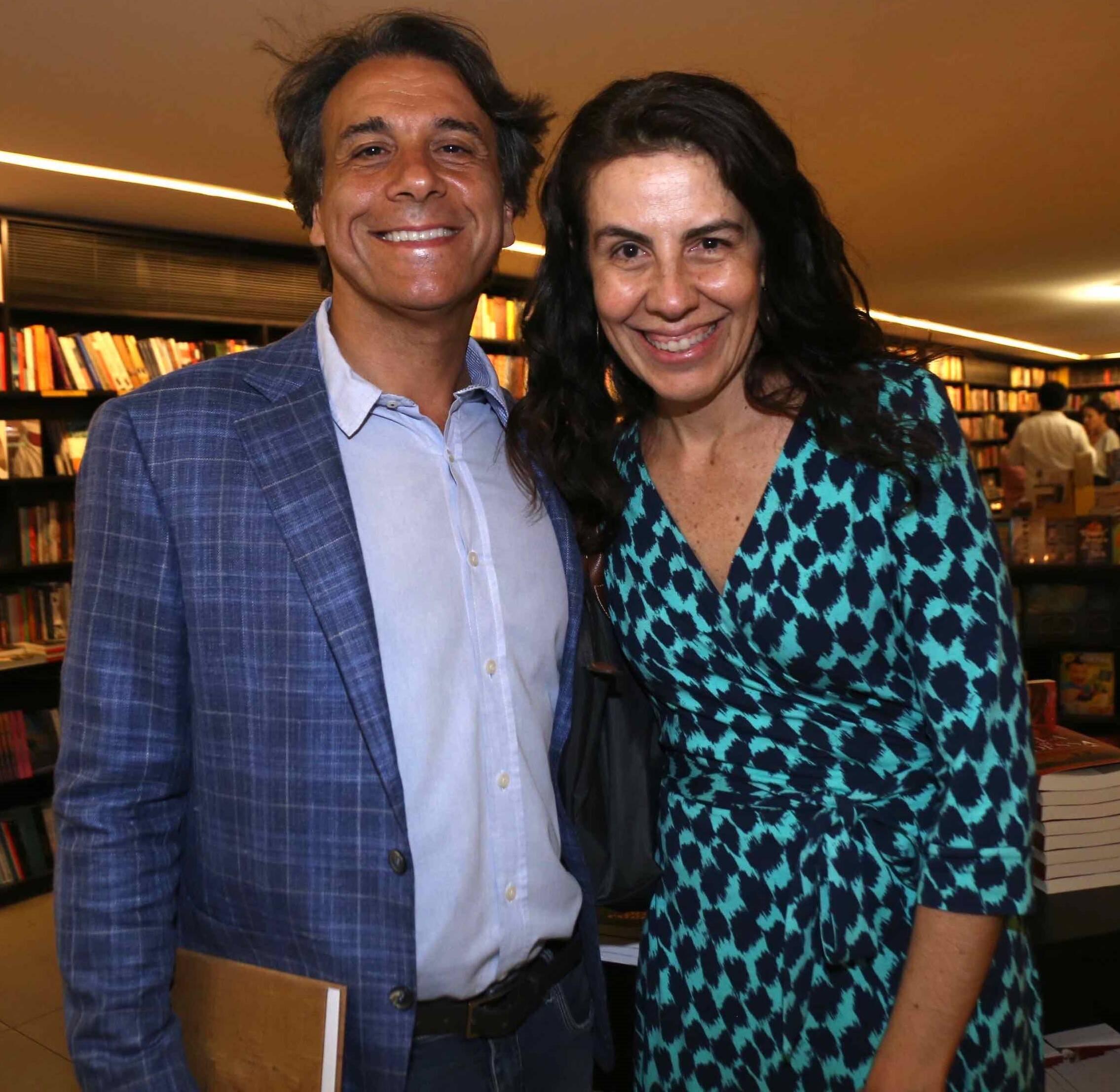 Marcello e Flavia Hallake  /Foto: Denise Andrade