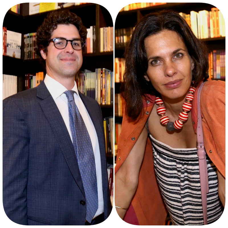 Mario Netto e Melanie Bittencourt  /Foto: Denise Andrade