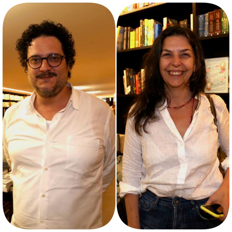 Rafael Vogt Maia Rosa e Renata Canton  /Foto: Denise Andrade