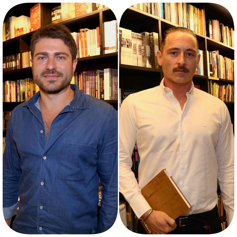 Fernando Menocci e Gonçalo Assis Brasil  /Foto: Denise Andrade