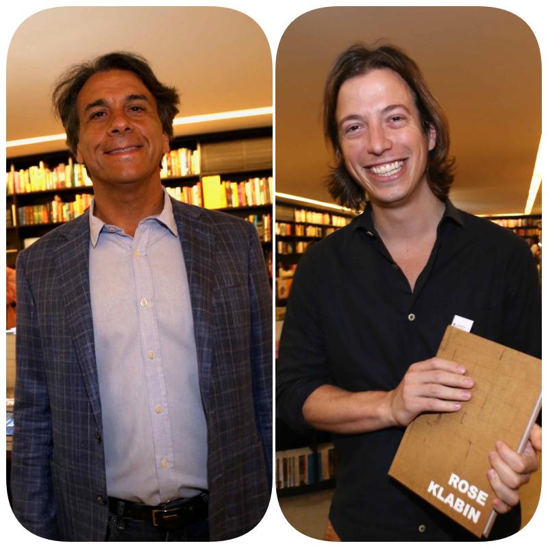 Marcello Hallake   e Marcelo Grabowsky  /Foto: Denise Andrade