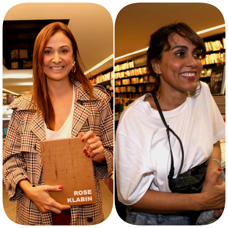 Marcia Telles  e Mariana Dantas  /Foto: Denise Andrade