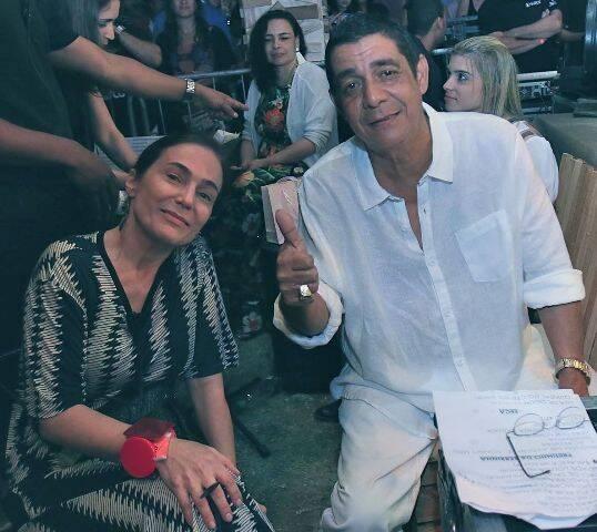 Leninha e Zeca Pagodinho