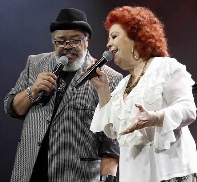 Jorge Aragão e Beth Carvalho