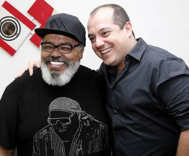 Jorge Aragão e Michel Diamant