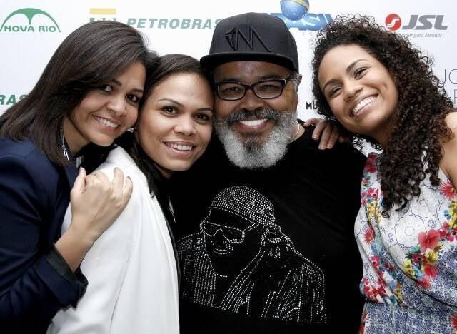 Vânia, Tania, Jorge e Fernanda Aragão