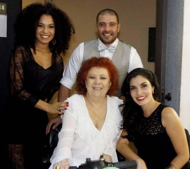 Thais Macedo, Diogo Nogueira, Beth Carvalho e Joyce Candido