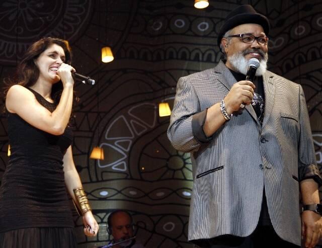 Joyce Candido e Jorge Aragão
