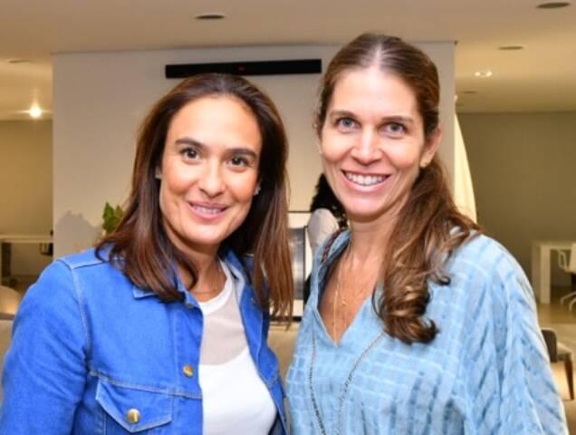 Eva Bichucher e Luciana Giannella