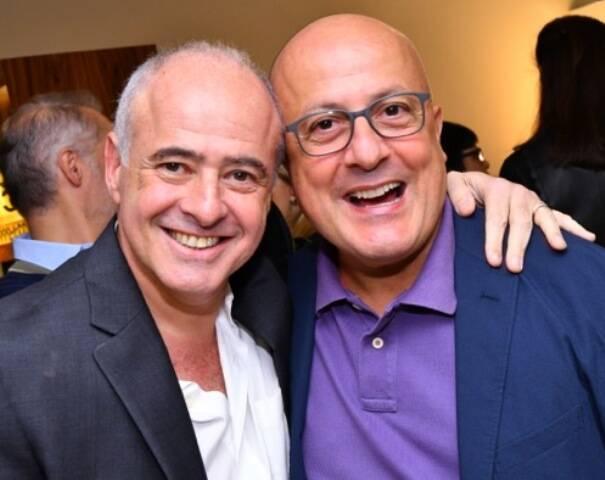 Helio Bork e Emílio Kalil