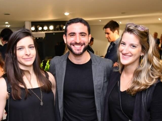 Michele Schilis, Sammy Bork e Maria Beatriz Rodrigues