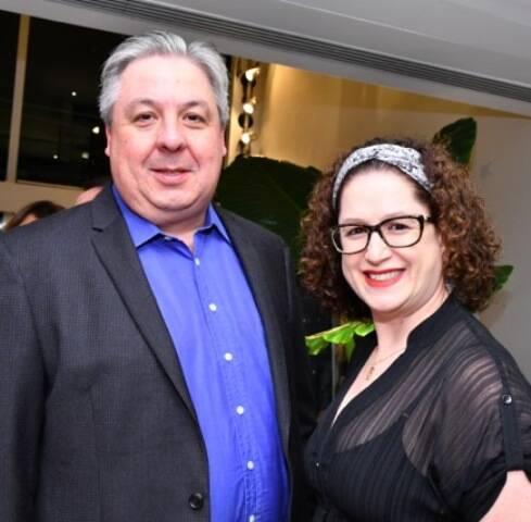 Paulo Mourão e Patricia Linhares