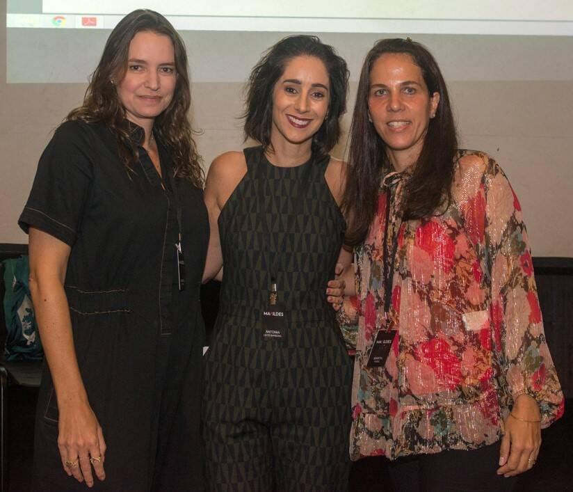 Brenda Valansi,  Antonia Leite Barbosa e Marta Fadel /Foto: Cristina Lacerda