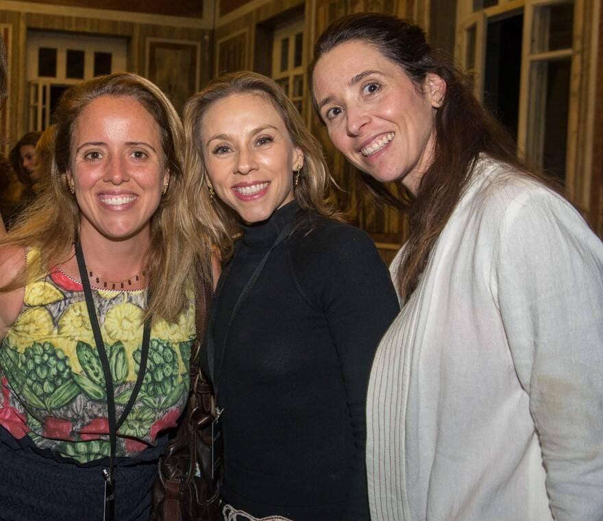 Paula Saboya, Alessandra Amaral e Paula Valansi /Foto: Cristina Lacerda
