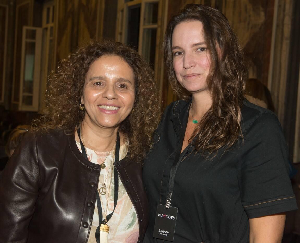 Beatriz Milhazes e Brenda Valansi /Foto: Cristina Lacerda