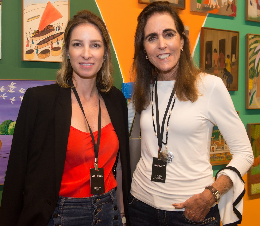 Débora e Laura Paiva /Foto: Cristina Lacerda