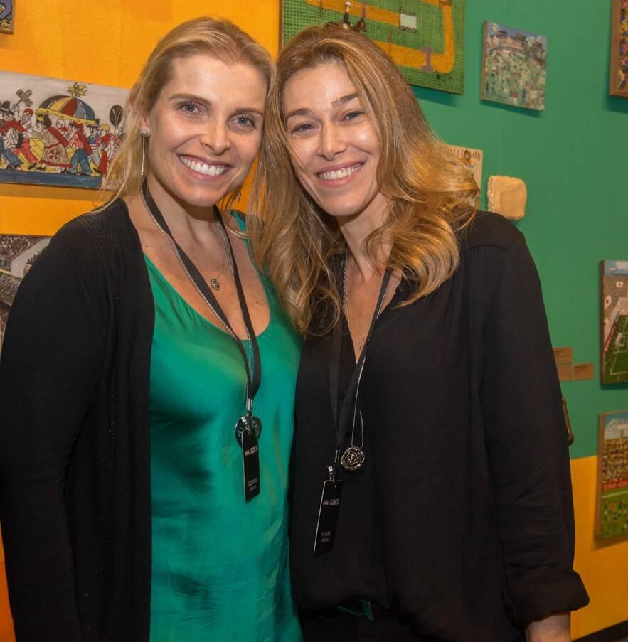 Debora Tessler e Flávia Borges /Foto: Cristina Lacerda