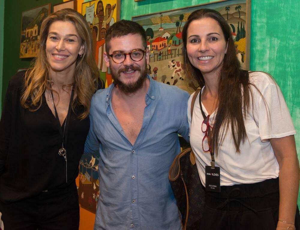 Flávia Borges, Ulisses Carrilho e Juliana Kfuri /Foto: Cristina Lacerda
