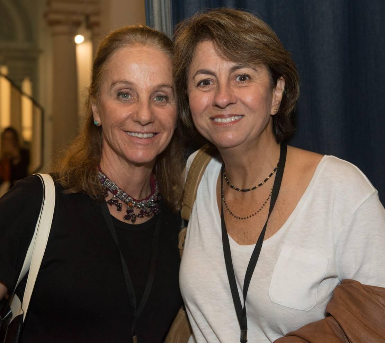 Maria Pia Mussnich e Angela Siemsen /Foto: Cristina Lacerda