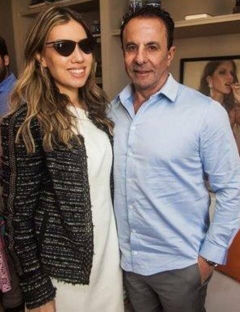 Clarissa Wagner e  Flavio Aronis