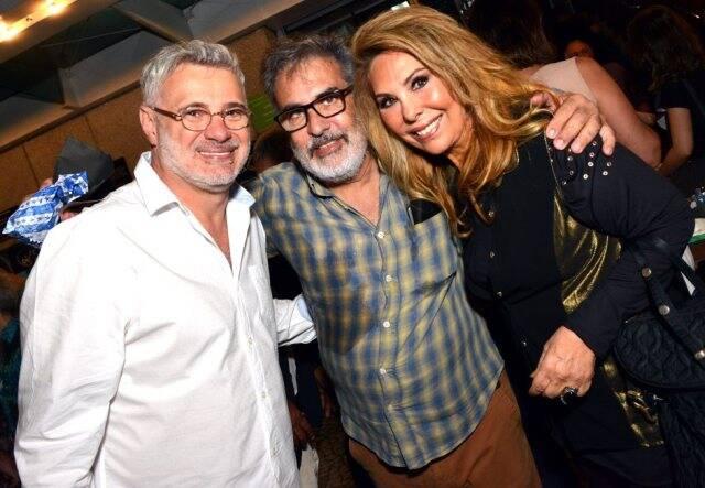 Tadeu Aguiar, Luis Villarino e Therezinha Sodré