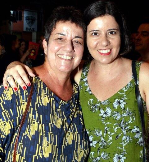 Heloísa com a filha Julia Seixas