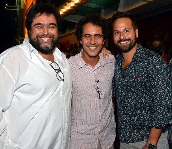 Eduardo Barata, Leonardo Haus e Marcelo Calero