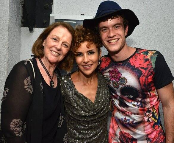Norma Thiré, Amanda Acosta e Vitor Thiré