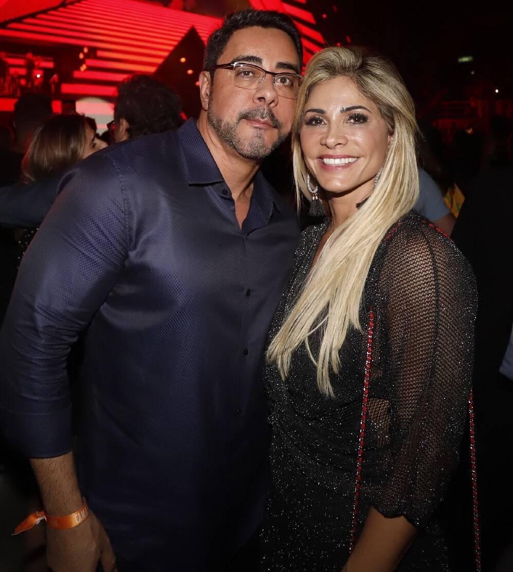 O casal Simone e Marcelo Bretas /Foto: Fred Pontes