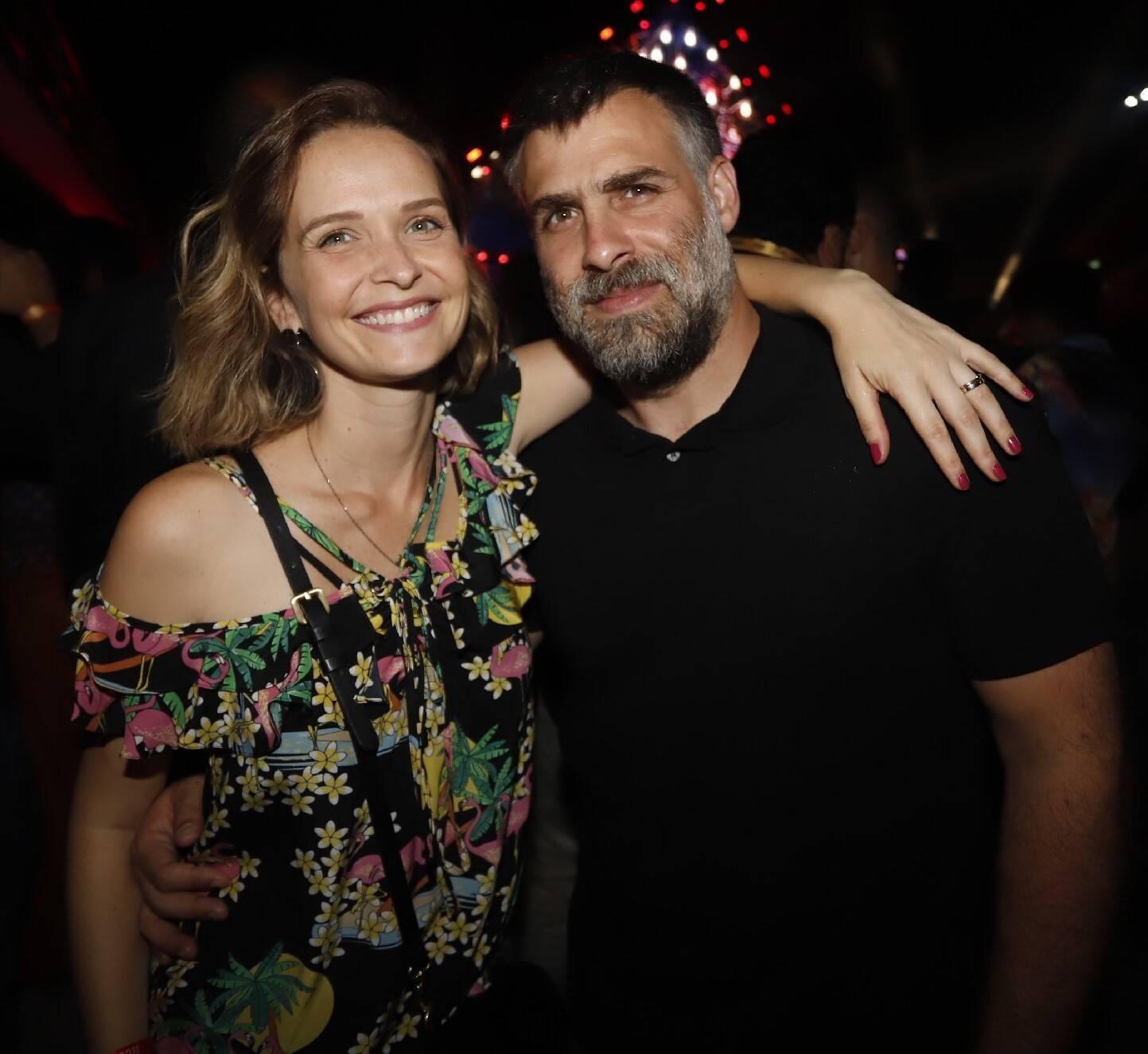Fernanda Rodrigues e Raoni Carneiro /Foto: Fred Pontes