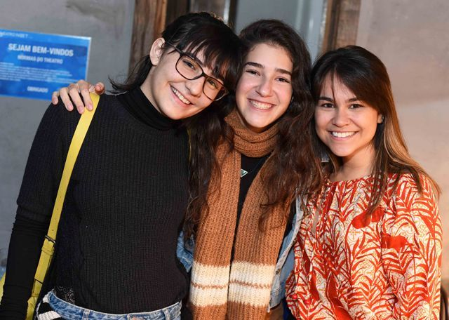 Carol Oliveira, Catharina Israel e Luiza Siconha