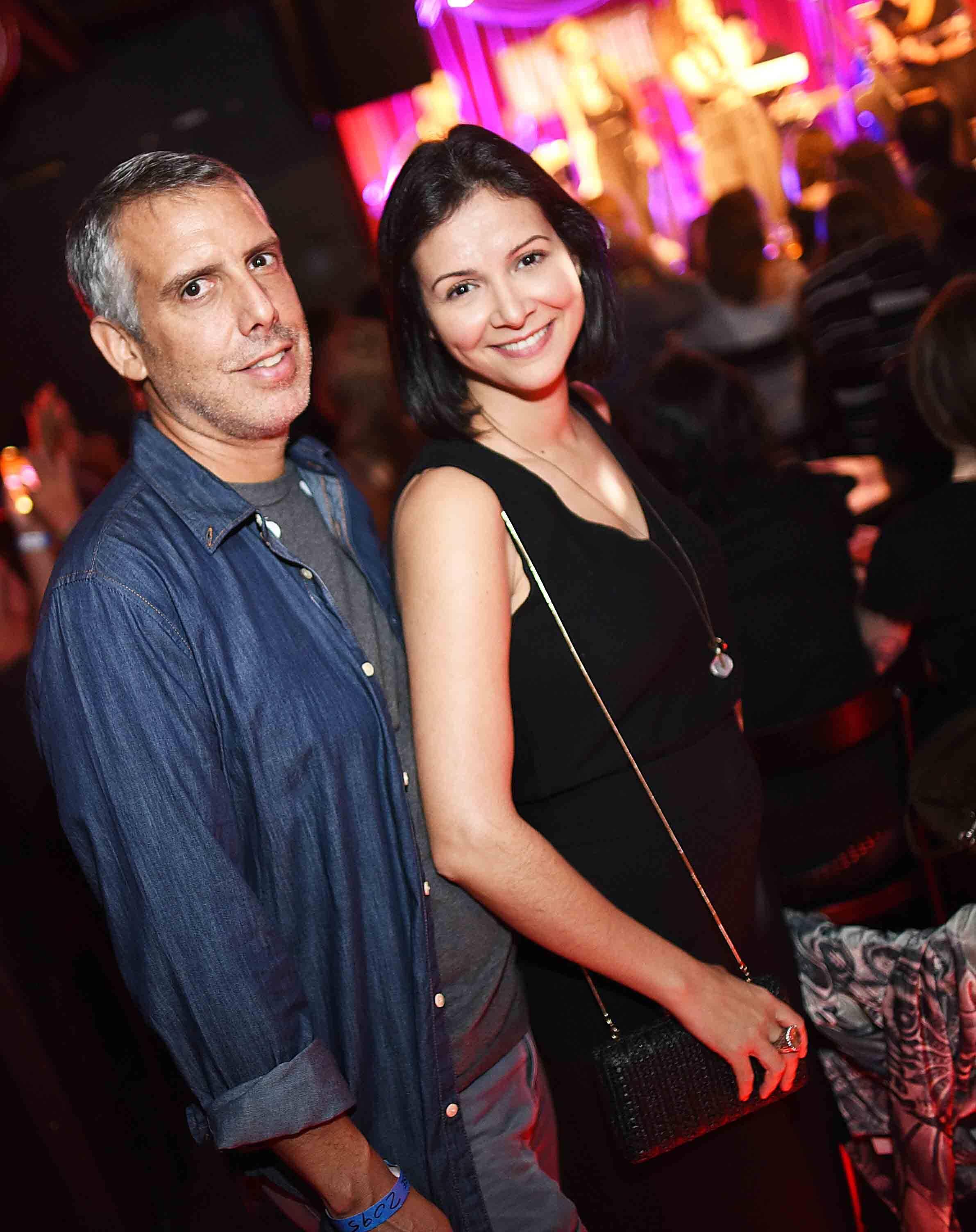 Hilario e Luciana Gouvea Vieira / Foto: Ari Kaye