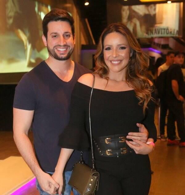 Renata Dominquez e Marcio Bruzzi