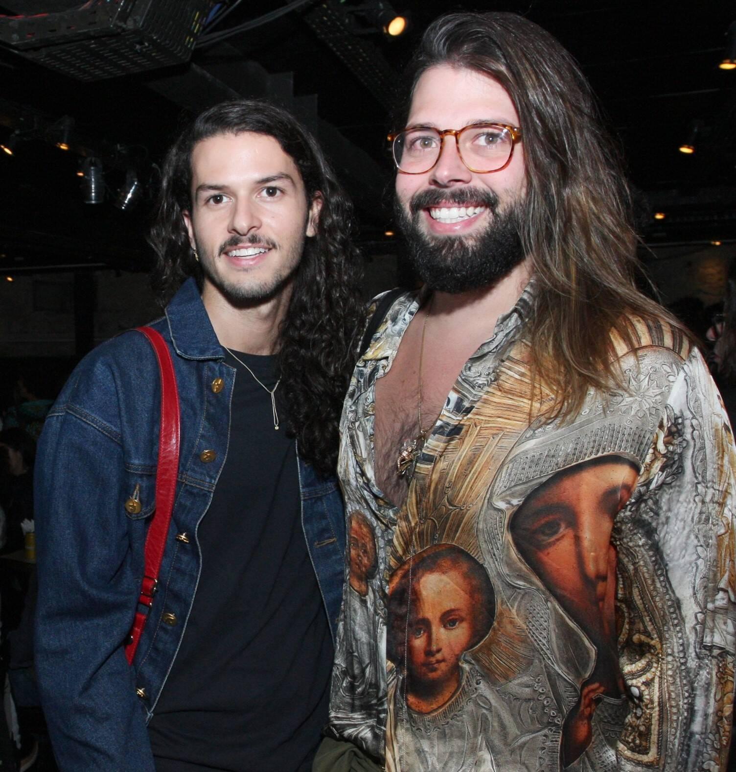 Patrick Doering e Thomaz Azulay /Foto: Vera Donato