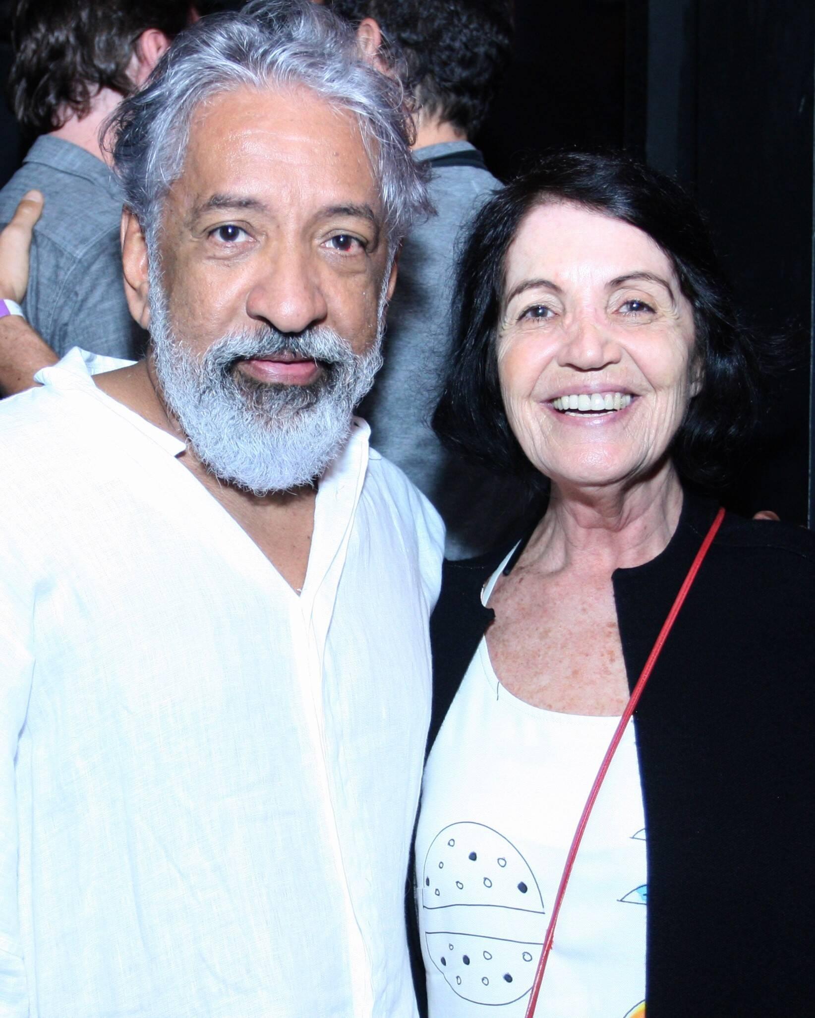 Letieres Leite  e Mary Debs /Foto: Vera Donato