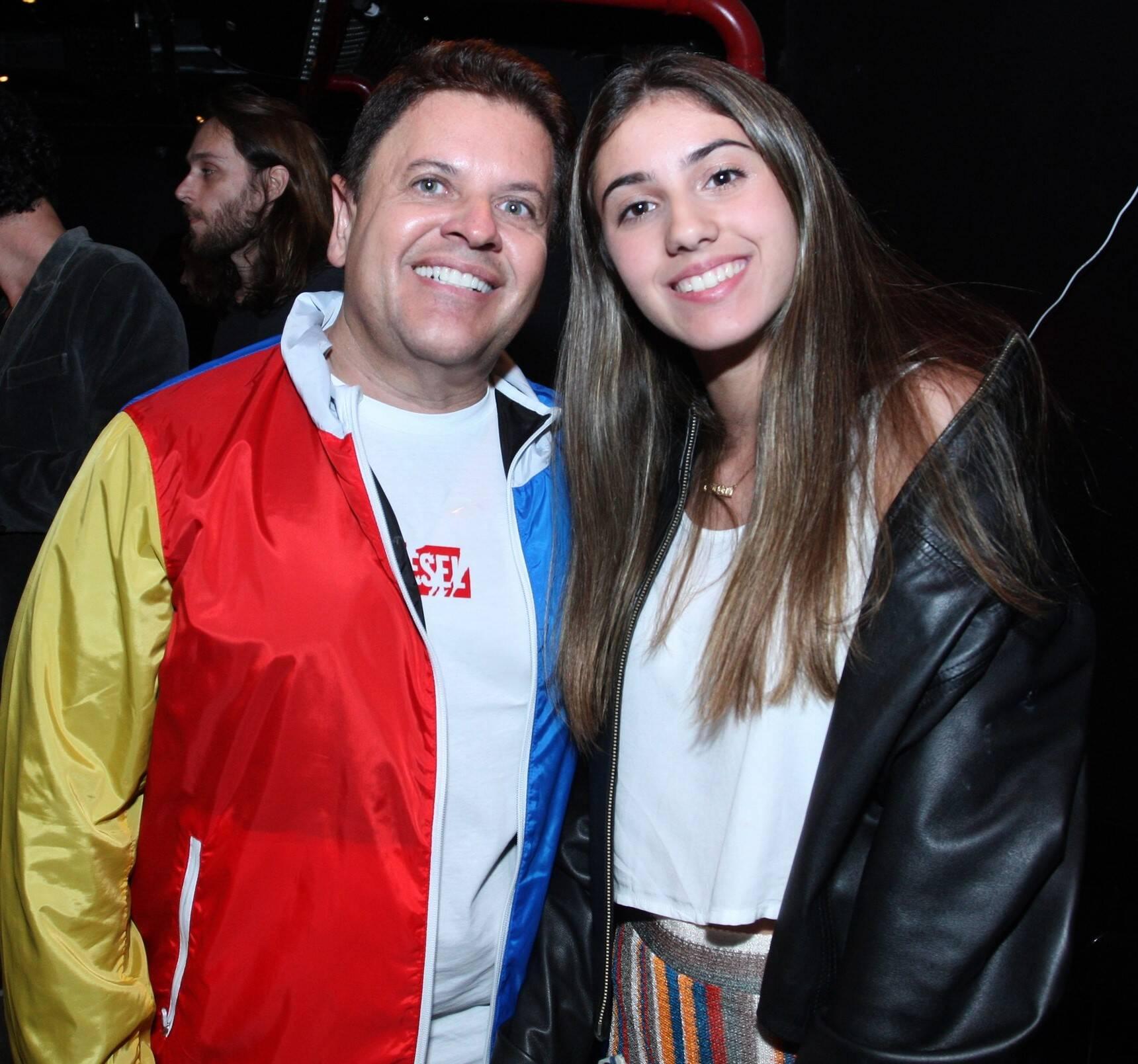 Marcio Monthé e Nina Basbaum /Foto: Vera Donato
