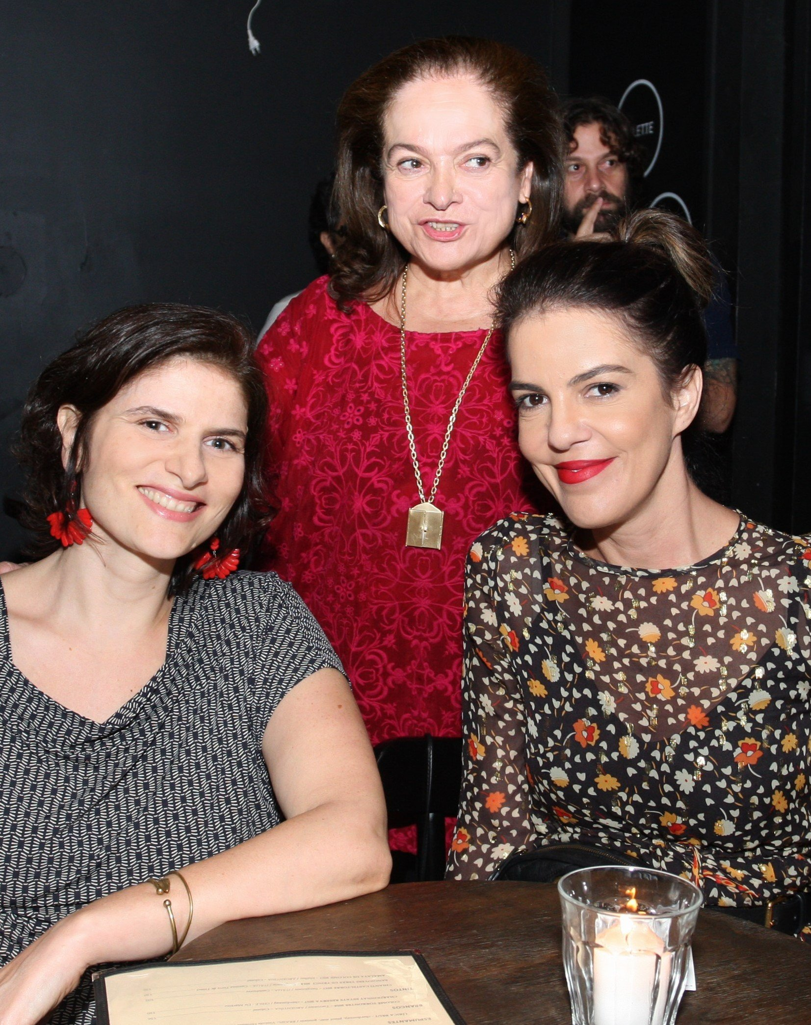 Antonia Ratto, Katia Almeida Braga e Mariana Gross /Foto: Vera Donato
