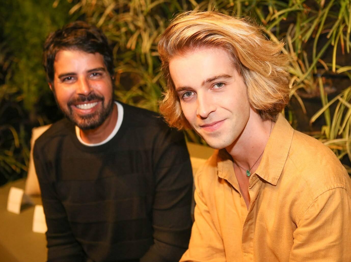 Alex Lerner e Laren /Foto: Gianne Carvalho
