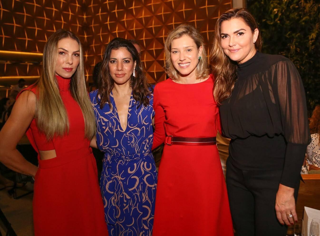 Monica Gracino, Carol Filgueiras, Andrea Filgueiras e Karina Perez Ferraz /Foto: Gianne Carvalho
