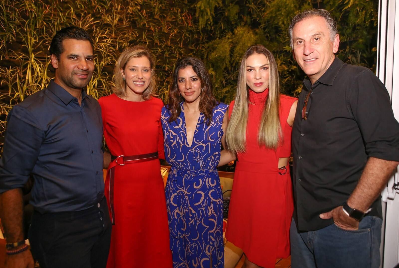 Gustavo e Andrea Filgueiras, Carol Filgueiras, Monica Gracino e Cesar Federman /Foto: Gianne Carvalho