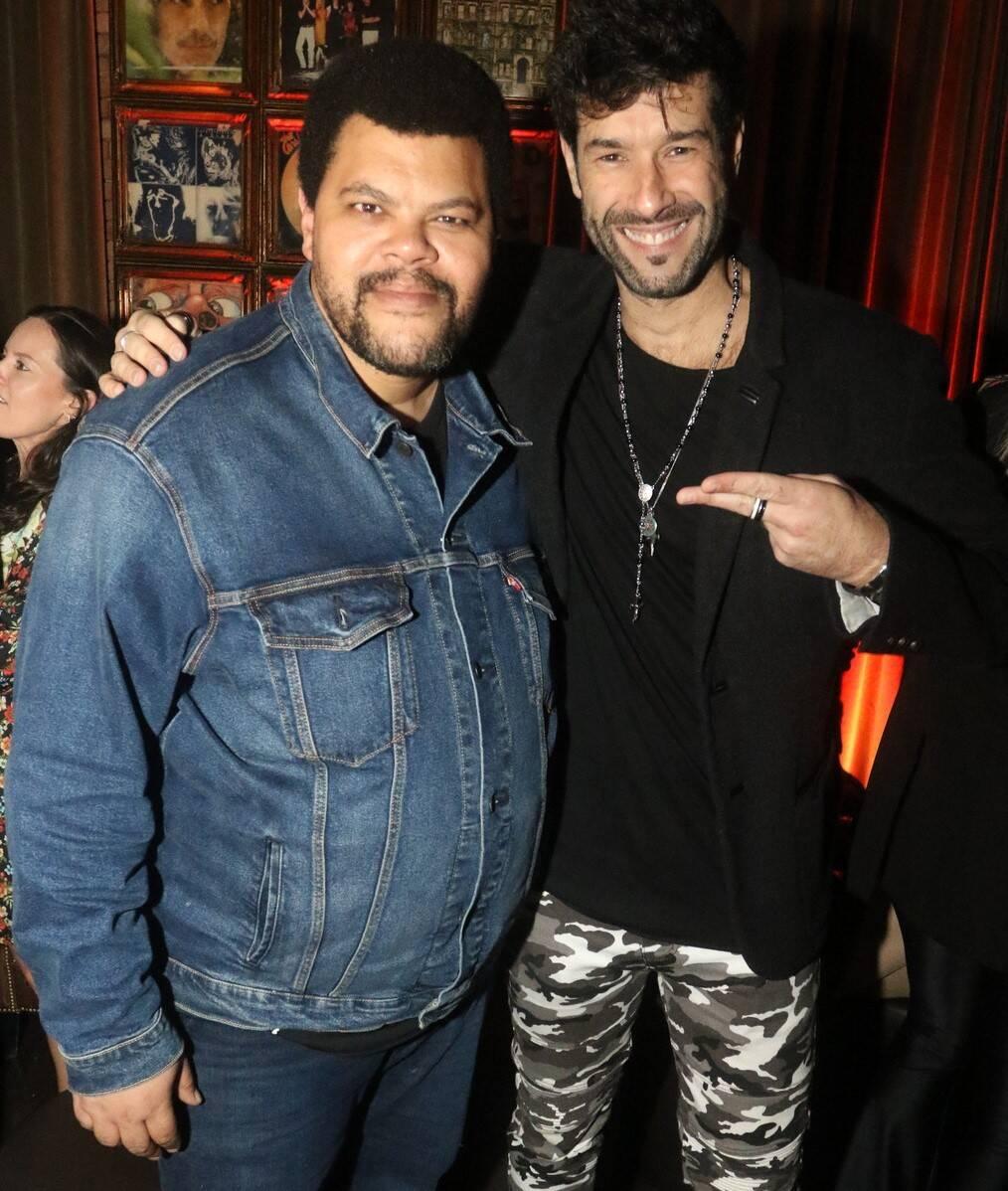 Babu Santana e Daniel Delsarta /Foto: Reginaldo Teixeira