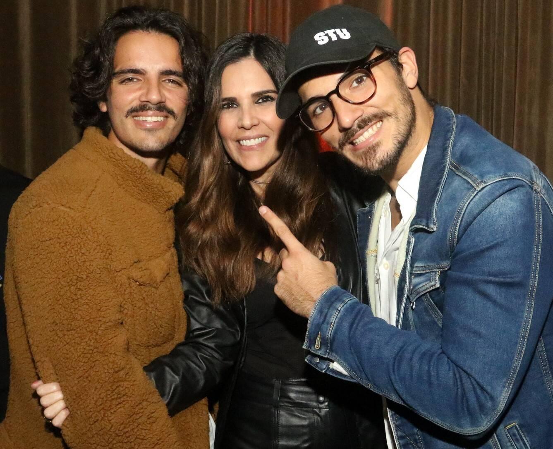 Daniel Lorio, Claudia Romano e Rodrigo Lorio /Foto: Reginaldo Teixeira