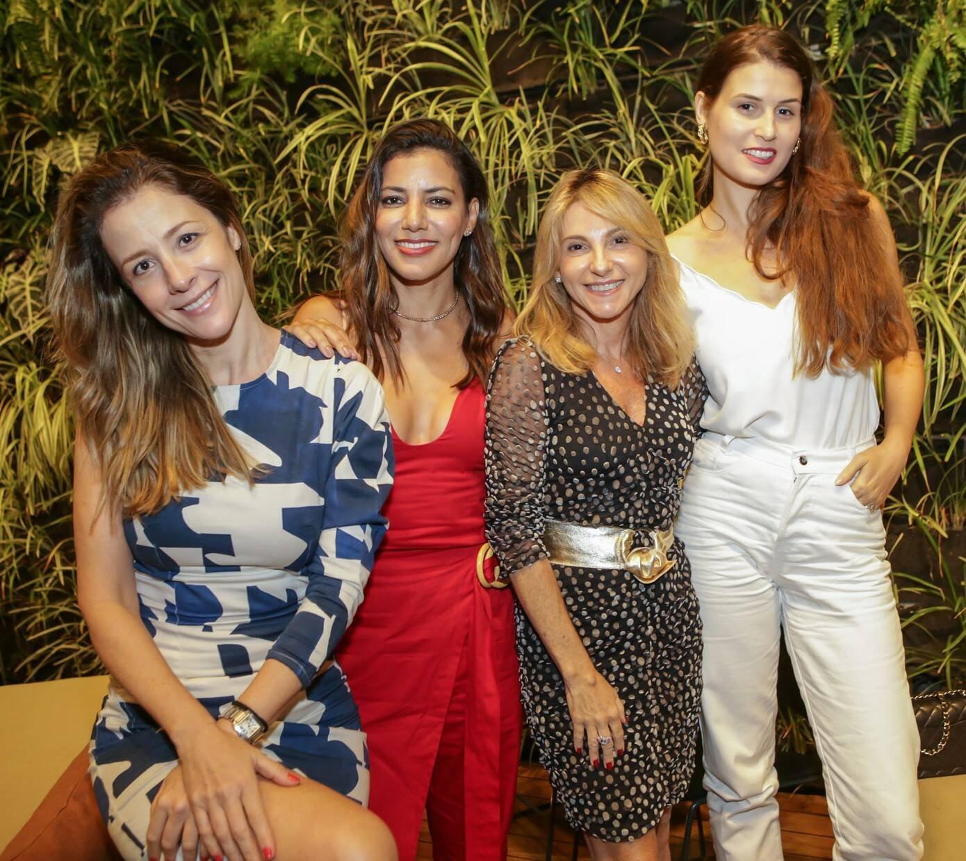 Daniela Bechara, Carol Filgueiras, Márcia Príncipe e Raquel Wymann  /Foto: Gianne Carvalho