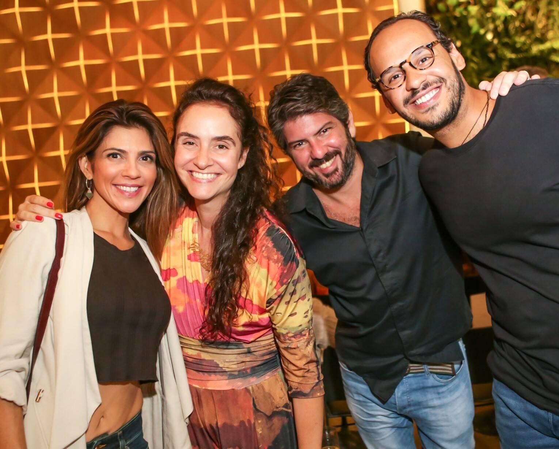 Danielle Prado, Alessa, Fabio Prado e Rafael Faria  /Foto: Gianne Carvalho