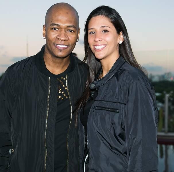 Luiz Ferreira e Camila Zanchetta